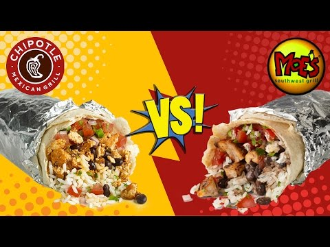 Chipotle VS Moe
