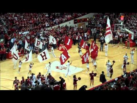 Indiana basketball under 8 timeout - FLAGS