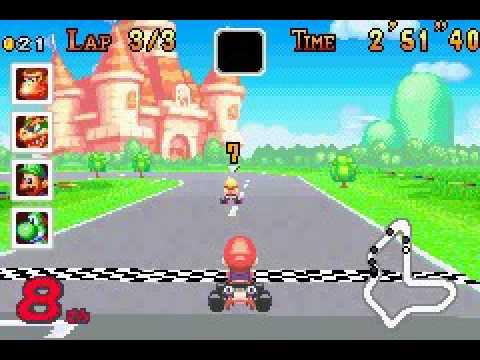 Mario Kart Super Circuit Game Over