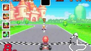 Mario Kart Super Circuit - Game Over