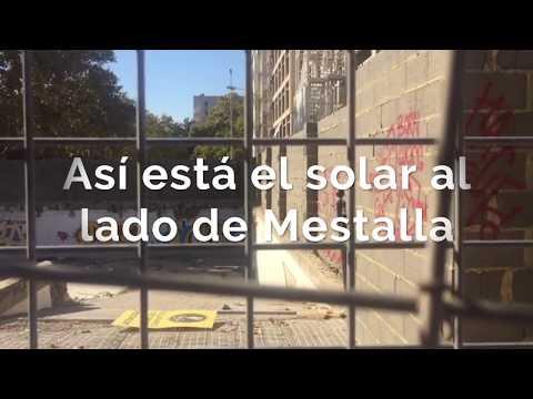 Nuevo Estadio y solar de Mestalla a día de hoy