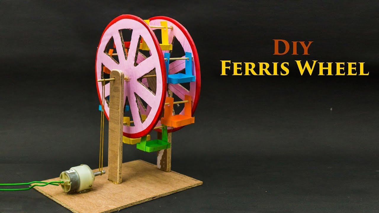 Ferris Wheel Powered By DC Motor - YouTube