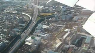伊丹空港 大阪城から着陸 004 thumbnail