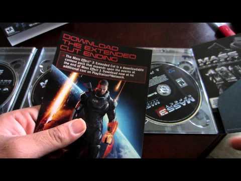 Mass Effect Trilogy Unboxing