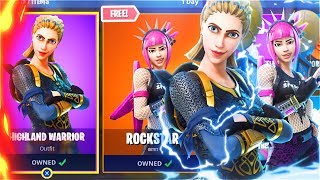 New LEGENDARY SKINS Update In Fortnite Battle Royale! (Fortnite Battle Royale Free Skins Update)