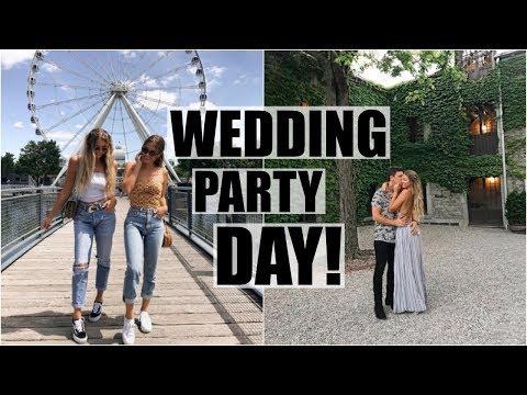 Wedding Party Day! // Tess & Pat Visit Montreal!