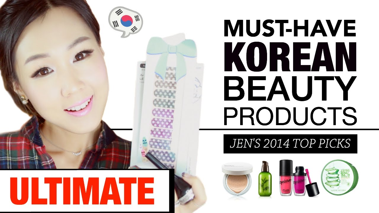 Jen's Top Must-Have Korean Beauty Picks (2014) 한국 화장품 추천 뷰티템 리스트