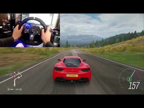Download Forza Horizon 4 Gta 6 Real Life Ferrari 488 Gtb Logitech