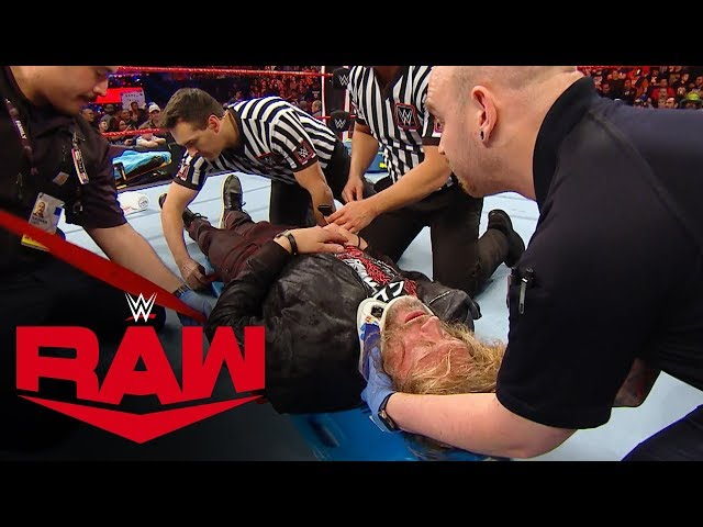 See the aftermath of Randy Orton's assault on Edge: Raw Exclusive, Jan. 27, 2020