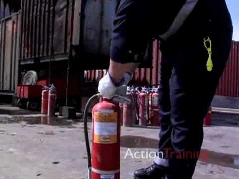 Industrial Fire Brigades Portable Fire Extinquishers 1 from Action Training Systems