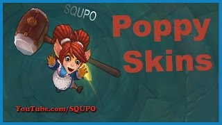 All Poppy Skins (League of Legends)