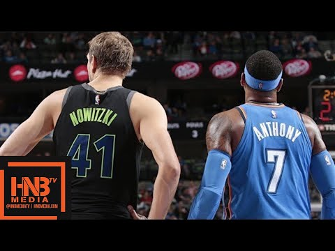 Oklahoma City Thunder vs Dallas Mavericks Full Game Highlights / Feb 28 / 2017-18 NBA Season