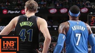 Oklahoma City Thunder vs Dallas Mavericks Full Game Highlights / Feb 28 / 2017-18 NBA Season