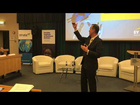Strate GIBS Fintech Innovation Conference Panel Discussion on Disruptive technologies, big data, rob