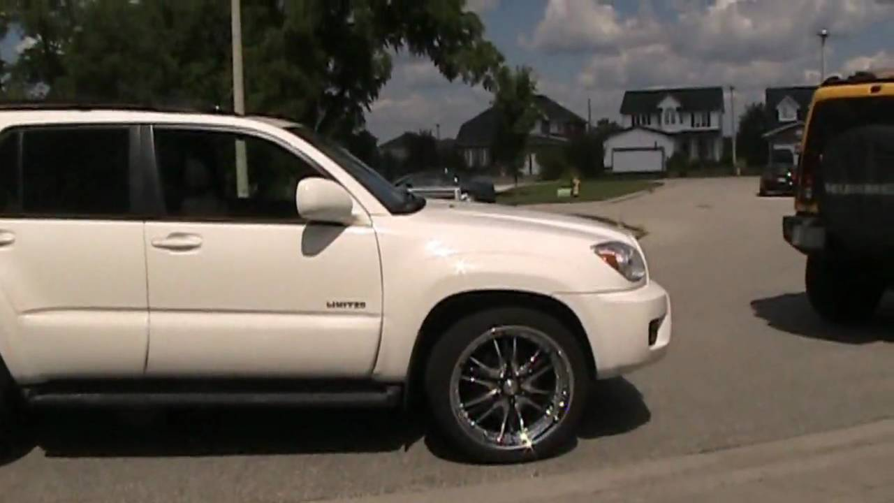 4Runner Off Road >> 2006 Toyota 4Runner Limited on 22`` LG5`s - YouTube