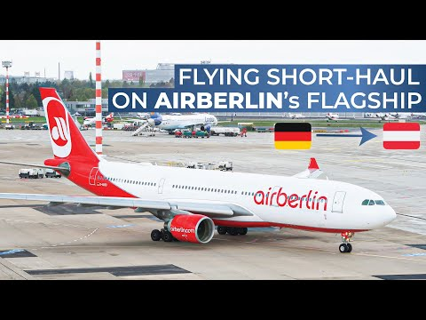 THE FINAL AIR BERLIN TRIPREPORT | Air Berlin (ECONOMY) | Airbus A330-200 | Dusseldorf - Vienna