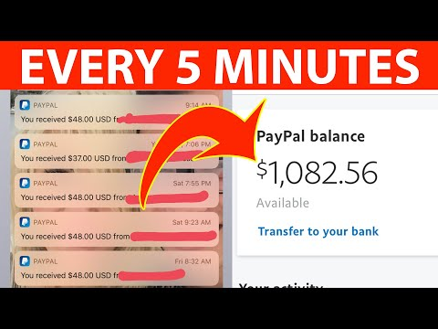 FREE PAYPAL MONEY ($750+ NEW APP) | Make Money Online 2021