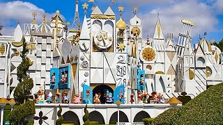 [HD] Its a Small World Disneyland 1080p 60fps Full Complete Ridethrough POV