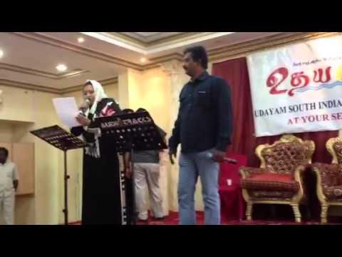 Priya film song Karaoke by Sajjaudeen, Riyadh.