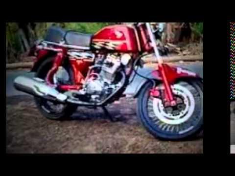 Motor Klasik CB 100 Modif Terbaru