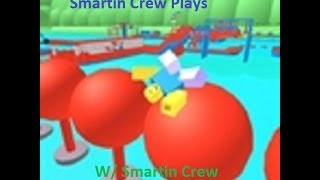 Roblox Wipeout Obby Easy Bonus Footage W/ Penguin, Com, KK, Jerry, Bey, and Puppie