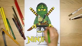Lego Ninjago coloring page ⚔