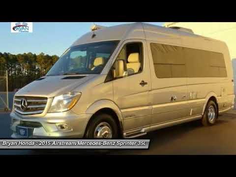 2015 Airstream/Mercedes Benz Sprinter 3500 Fayetteville NC, Fort Bragg NC,  1652770