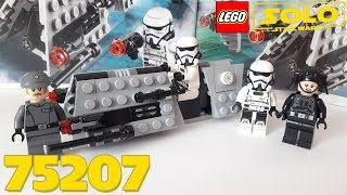 Обзор LEGO Star Wars 75207 - Imperial Patrol Battle Pack (Боевой набор имперского патруля)