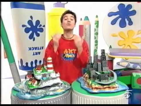 Art attack artattack manualidades infantiles youtube - Manualidades art attack ...