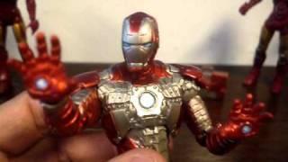 Review dos bonecos Homem de Ferro Mark IV e Mark V do filme Homem de Ferro 2
