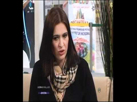 """monica ropota despre casatorie si copil la """"Adina Halas Show"""""""
