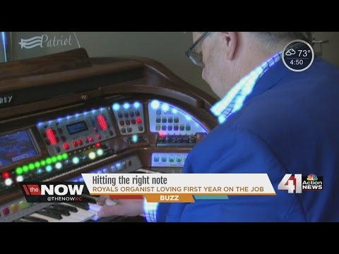 New Royals organist hitting all the right notes