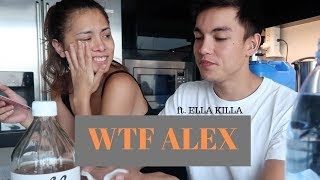 #WTFALEX REVIEWS ft. Ella Killa | Field Day Organic Apple Cider Vinegar Review
