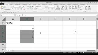 EXCEL FUNCTIONS, TIPS and TRICKS: SUM FORMULA, BASICs of EXCEL TIPS