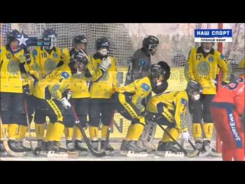 Россия – Казахстан ЧМ 2016 Хоккей с мячом Полуфинал / Bandy World Championship 2016 Semifinal