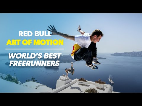 Worlds best free runners in Greece - Red Bull Art of Motion 2013