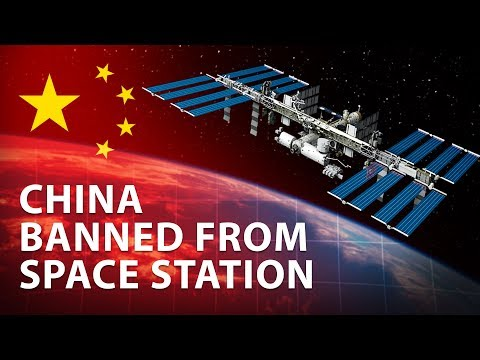 China's Space Station Ban