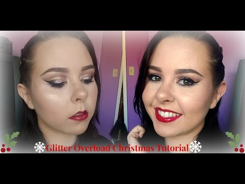 All I Want for Christmas is GLITTER Tutorial | Beat by Vela