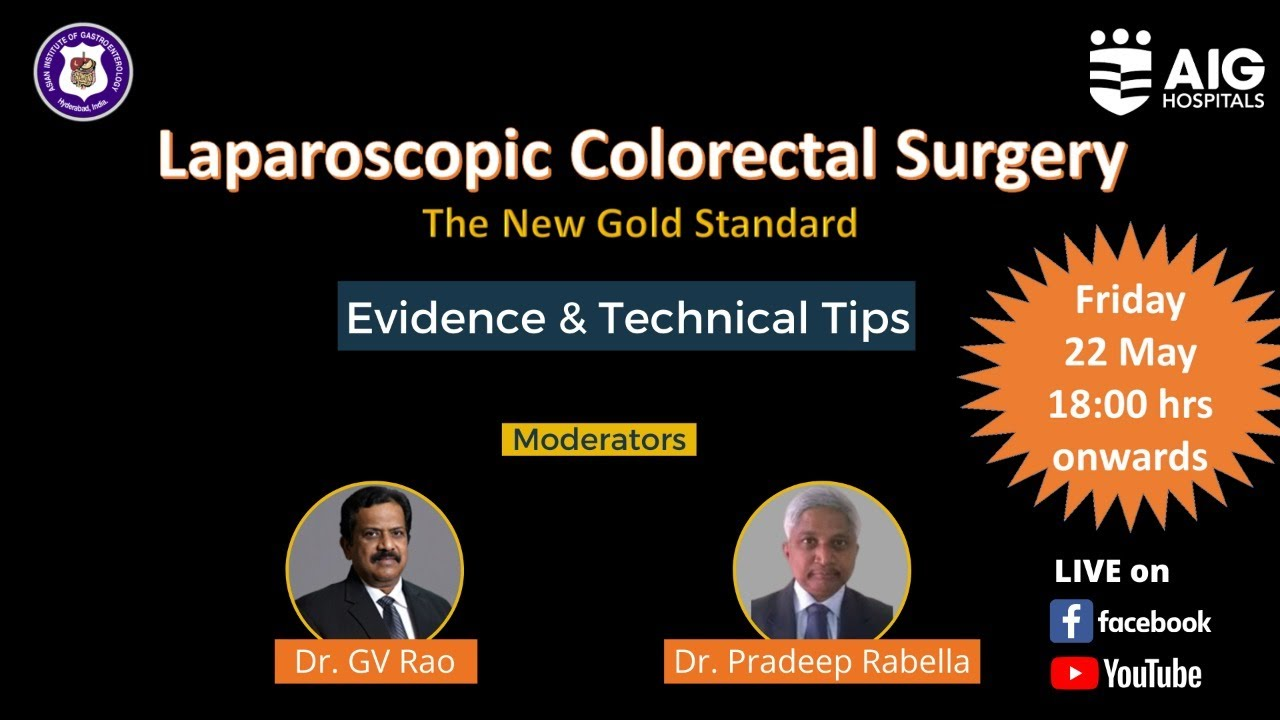 Laparoscopic Colorectal Surgery | AIG Hospitals #Gastroenterology