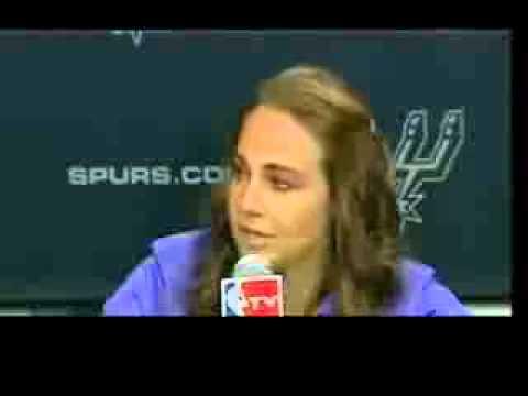 Becky Hammon First Woman NBA Coach   San Antonio Spurs Hire Becky Hammon   VIDEO