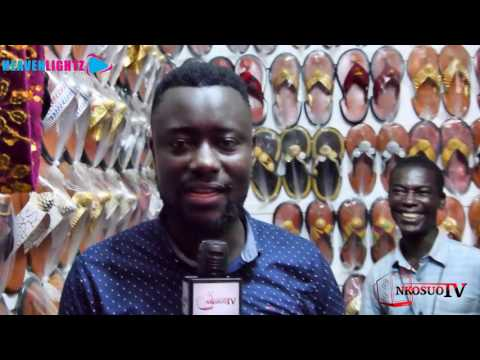 Nkosuohene visits Arts Centre in Accra.