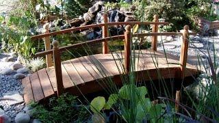 Романтические украшения для сада - декоративные мостики