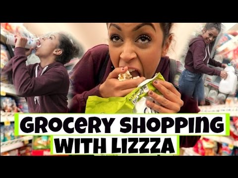 Thumbnail: STEALING FOOD?! GROCERY SHOPPING WITH LIZZZA | Lizzza