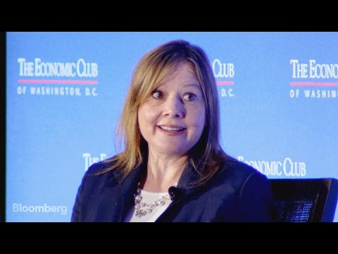 Mary Barra Surprised by Questions About Being a Woman CEO