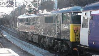Early Morning Trains at London Euston 30/6/15
