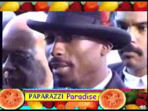 TUPAC SHAKUR makes dapper arrival at Grammy Awards - 1996