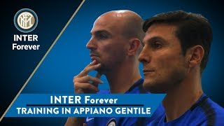 INTER FOREVER | Training with Spalletti, Zanetti, Toldo, Materazzi, Cambiasso and many other legends