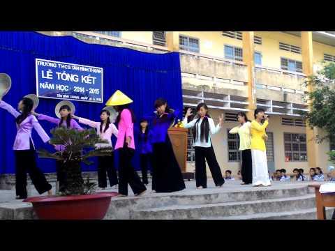 Tiết mục múa - học sinh trường thcs Tân Bình Thạnh