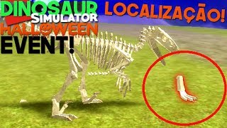 Dinosaur Simulator (Roblox)-how to get The Skins Fossils! | (#119) (Gameplay)