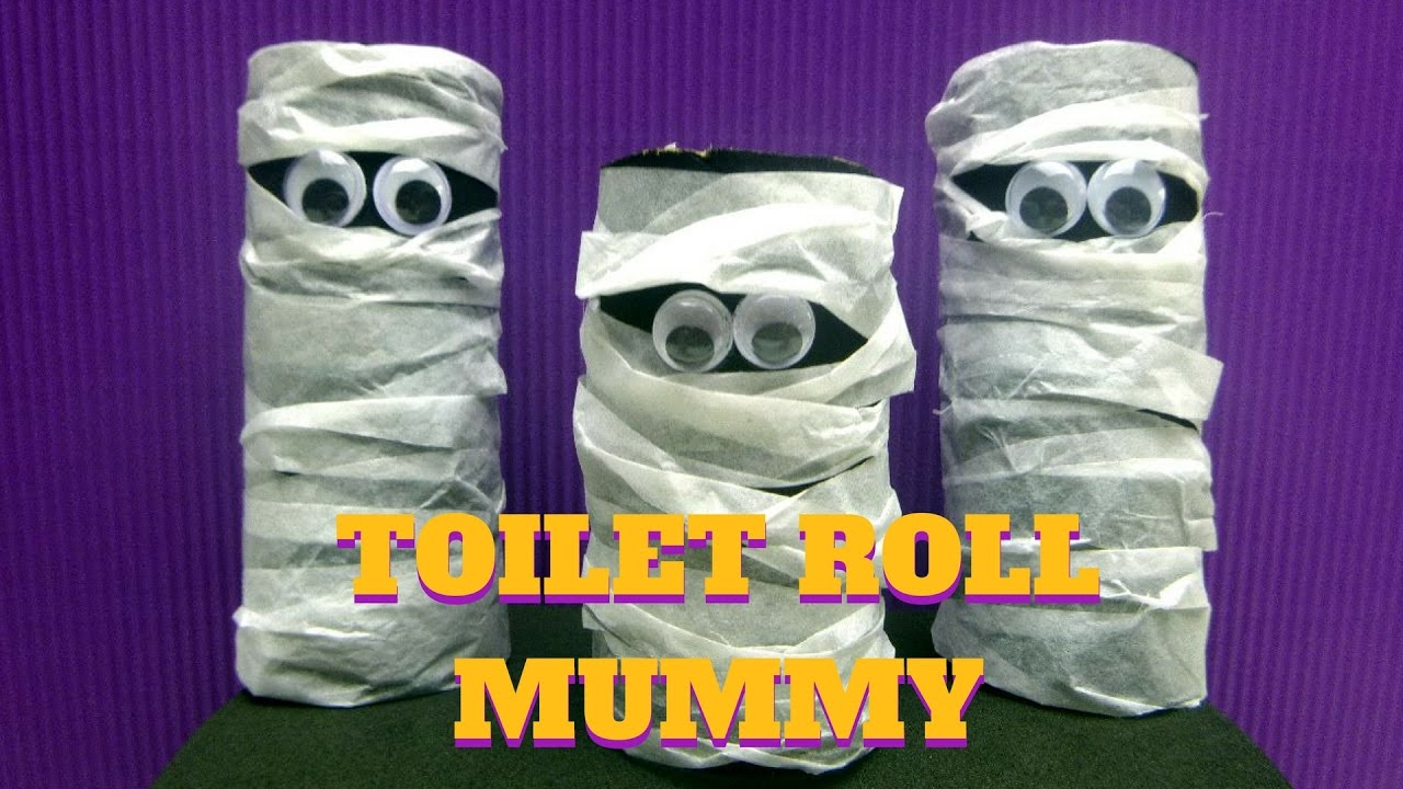 paper roll mummy craft craft toilet paper roll mummy toilet paper 5128